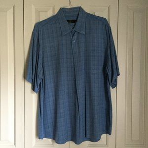 Blue Bugatchi Shirt | Size XXL